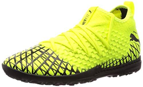 PUMA Herren Future 4.3 Netfit Tt Fußballschuhe, Gelb (Yellow Alert-Puma Black 03), 43 EU