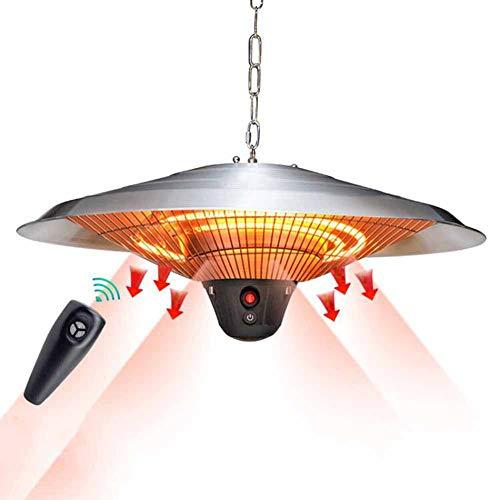 DMZH Patio Halógeno Calentador Impermeable Aleación