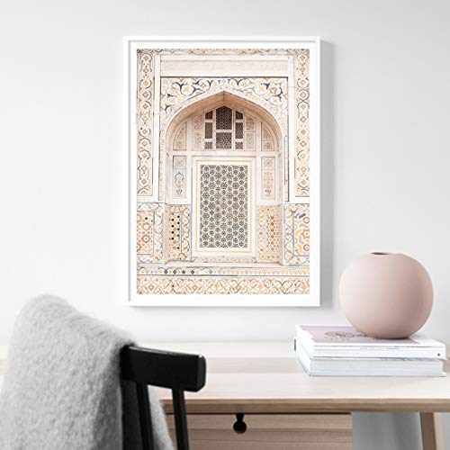 Danjiao Desert Vintage Fenster Landschaft Wandkunst Bilder Leinwand Malerei Galerie Poster Und Drucke Interieur Für Wohnzimmer Home Decor Wohnzimmer 40x60cm
