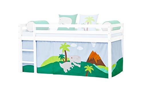 Hoppekids Vorhang für mittelhohe Betten 200x90x72 cm