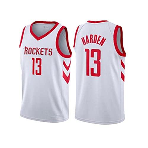 ZRHZB Rockets 13# Harden Jerseys De Baloncesto para Hombre Camiseta De Chaleco Uniforme Clásico Tela Transpirable Fresca(Tamaño: S-XXL),XL