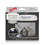 YANKEE CANDLE Midsummers Night Starter Kit L Profumatore per Auto, Notte di Mezza Estate, Unica