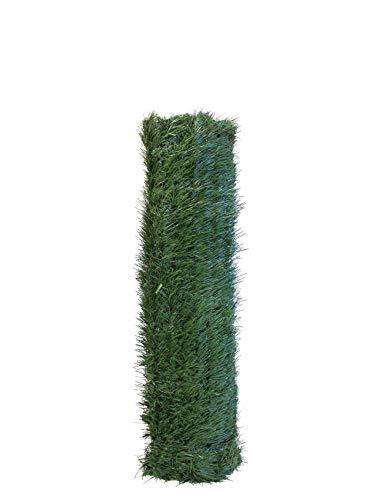Seto Decor KF050B Seto Artificial Decorativo de Hoja Fina de 0,5 x 5 Metros, Color Verde