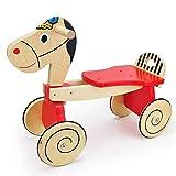 LGLE Baby Go-Cart Walkers Juguetes de Madera Pura Carro para...