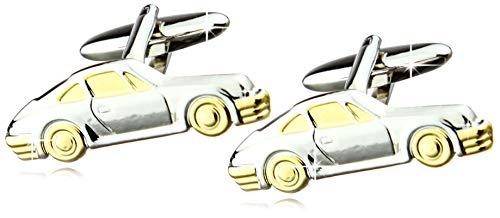 Design Manschettenknöpfe Porsche - Bicolor
