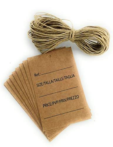 Etiquetas Ropa Carton Marca TodoKraft