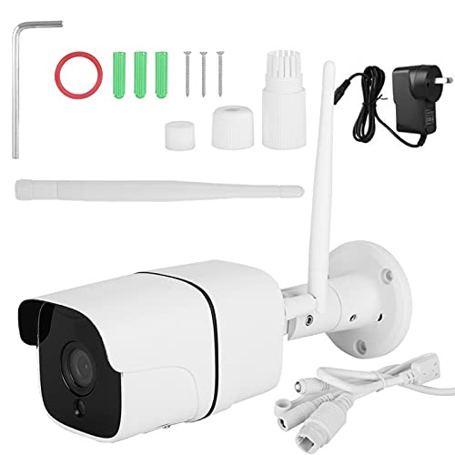 FECAMOS Cámara de Seguridad WiFi Cámara inalámbrica con visión Nocturna para la Seguridad de Las oficinas(100-240V Australian regulations)