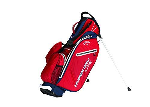 Callaway Hyper Dry Lite Golftasche für Herren, Herren, 5119087, Rot/Blau/Weiß, Unica