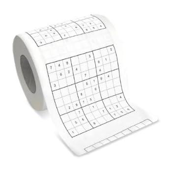 Carta igienica sudoku B00175TFU8
