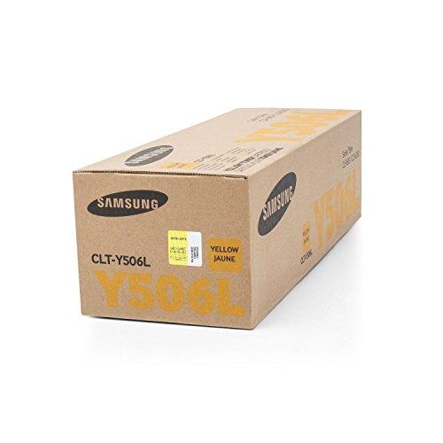 1x Original XL Toner Samsung CLT-Y506L CLP-680ND CLP-680DW - Yellow - Leistung: ca. 3500 Seiten