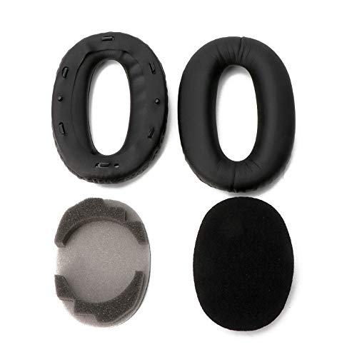 Soft Protein Leather Earpads Replacement Ear Pads Ear Cushion for Sony MDR-1000X MDR 1000X WH-1000XM2 Headphones
