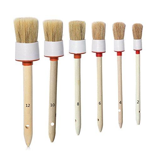 Car Detailing Brush Set, Car Detail Brush, Alloy wheel cleaner Cleaning...