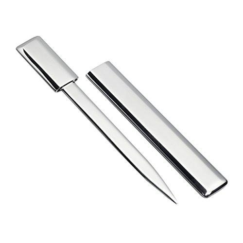 Sehr edler Brieföffner aus hochwertigem Metall, REFLECTS ERMESINDE Silberglänzend