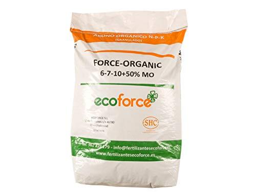 CULTIVERS ECO10F00003 Force Organic de 25 kg. Abono Universal Ecológico para Plantas...
