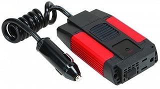 80 Watt Continuous 200 Watt Peak Slim Power Inverter 12 V DC to AC with USB port