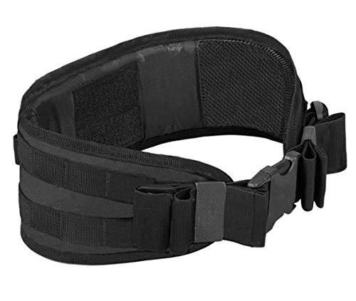 Kyrio - Cinturones tácticos MOLLE acolchados de la patrulla de batalla cinturón para equipo militar, airsoft, caza, deportes al aire libre