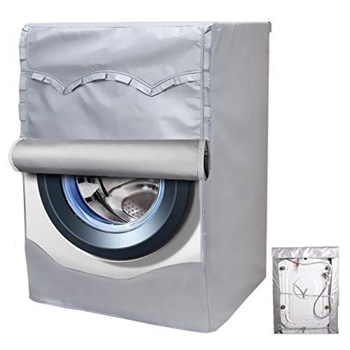 Mr. You Coprilavatrice Verticale Impermeabile per Lavatrice Impermeabile e Anti-Polvere per Lavatrice Giardino Balcone (Cloth Fiber, 60x53x64cm)