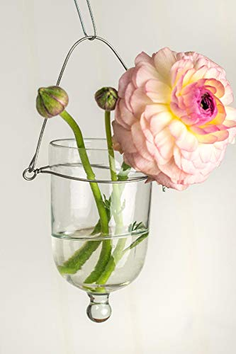 Richland Hanging Candle Holder Clear Glass Set of 36