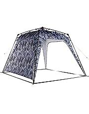 Lumaland x Where Tomorrow Gazebo de Camping – 1 Pared Lateral Incluido - Carpa de jardín – Cenador para Patio – Ideal para Acampada/Festival – Instalación Fácil