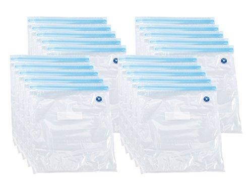 Rosenstein & Söhne Vakuumbeutel: 20er-Mega-Pack Vakuumierbeutel, je 34 x 30 cm (Vacuumierbeutel)