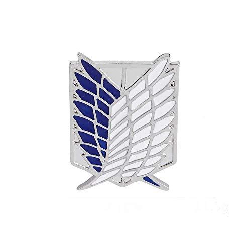 Desconocido Attack on Titan Pin Broche Logo Scouting Legion
