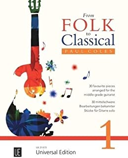 From Folk to Classical 1: for guitar