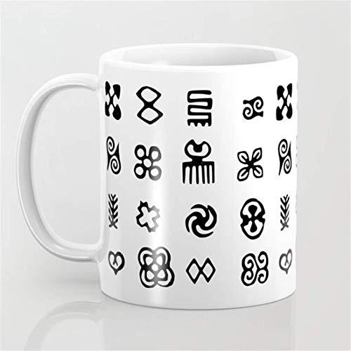 Adinkra Symbols of West Africa - Taza de café