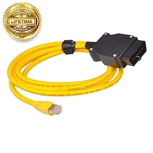 NiceCheck Enet OBD2 Kabel Ethernet Stecker F Seires Codierkabel OBD2 auf RJ45