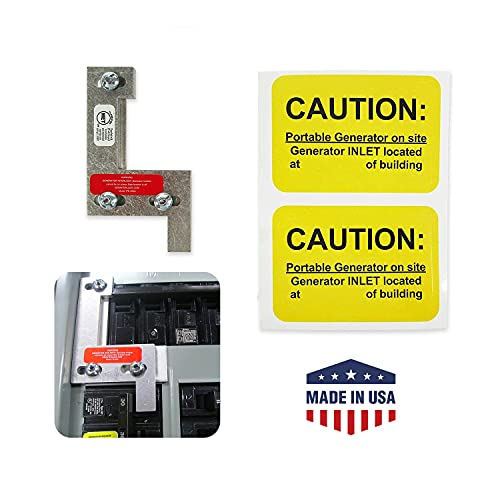 GenInterlock ITE-200A Gould, ITE, and Siemens Electrical Panels Interlock Kit for Safe Outdoor Portable Power Use During Outage, 150 and 200 Amp