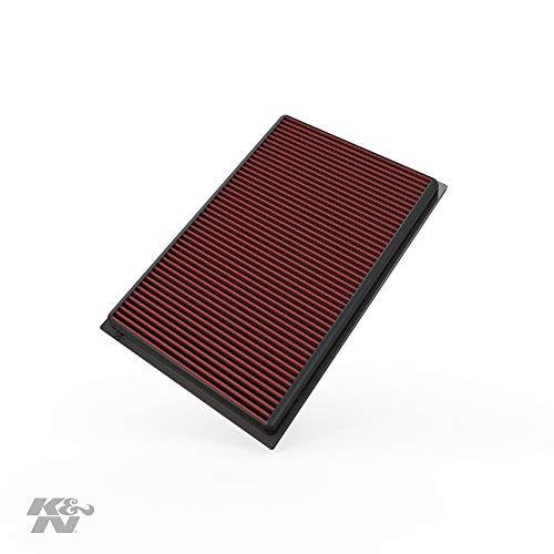 K&N 33-2384 Motorluftfilter: Hochleistung, Prämie, Abwaschbar, Ersatzfilter, Erhöhte Leistung, 2003-2018 (Q3, Quattro, RS, TT S, A3, RS3, Passat, CC, Magotan, EOS, Golf V)
