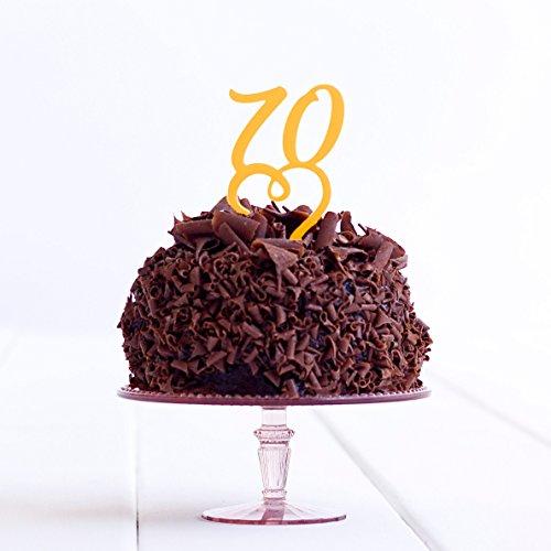 Directly Personlaised 70 Anniversaire de fête d'anniversaire Anniversaire de Mariage Acrylique gâteau