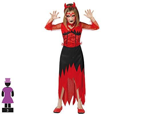 Atosa 70113 - Costume diavoletto Bambino, Taglia: 140 cm