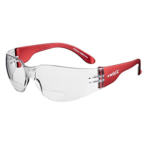 Pyramex Safety Exeter SB5155DT Anti-Fog Coated Safety Glasses with Rot-Mirrored Lenses in a Sporty and Attractive Design.