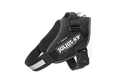 Julius-K9, 16IDC-P-0, IDC-Powergeschirr, Hundegeschirr, Größe M/0, schwarz