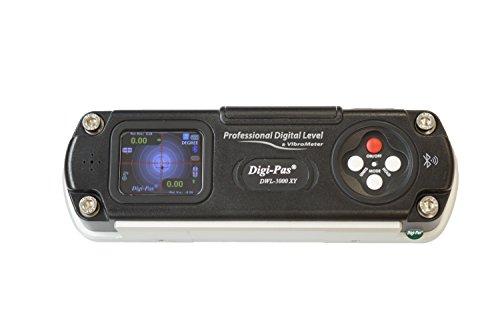 Digi-Pas 2軸 高精度デジタル水準器 水平器 角度計 傾斜計 DWL3000XY Bluetooth 0.01度