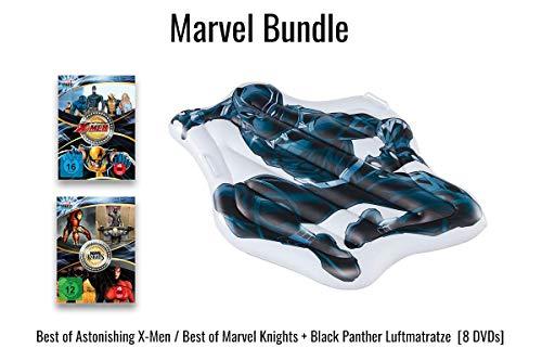 Best of Astonishing X-Men / Best of Marvel Knights + Black Panther Luftmatratze [8 DVDs]