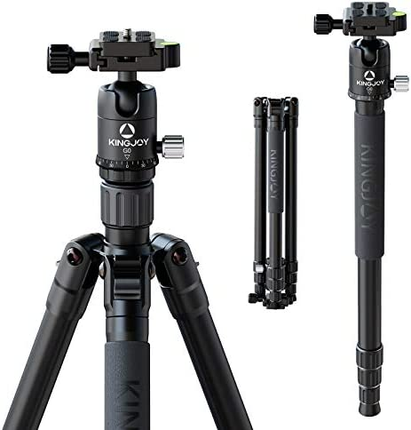 Professional Camera Tripod with Carry Bag 62 DSLR Tripod for Travel Lightweight and Reliable product image