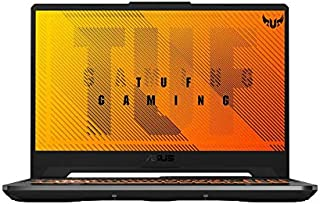 Asus TUF Gaming A15 FA506II-AL038T Gaming Laptop (Black) - AMD R7-4800H 2.9 GHz, 16GB RAM, 512GB SSD, Nvidia GeForce GTX1650Ti, 15.6 inches, 144Hz Refresh Rate, Windows 10, Eng-Arb-KB