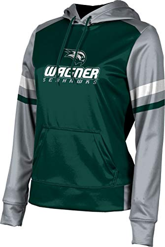 Wagner College Women's Pullover Hoodie, School Spirit Sweatshirt (Old School) A2819B3B