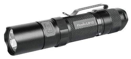 Fenix LD12 Flashlight (Upgraded), Black