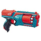 Nerf Elite Strongarm bleu et orange et Flechettes Nerf Elite Officielles - Exclusivité Amazon