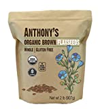 Best Flaxseeds - Anthony's Organic Brown Whole Flaxseed, 2 lb, Batch Review