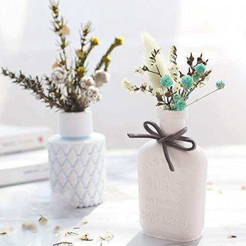 Athemeet Blumenvase Mold-Silikon-Blumen-Topf-Form-Urn 3D Resin Betoneingießtopf für DIY Fertigkeit Schmucksachen, die Geburtstags-Geschenke für sie Style2