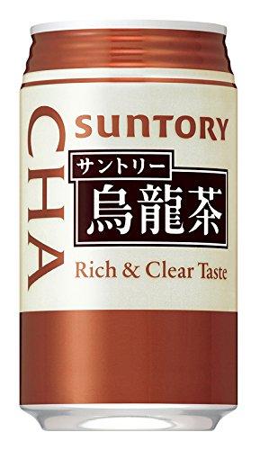サントリー 烏龍茶 缶 340g × 24缶