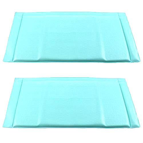 FindASpare Blue Anti-Frost Koelkast Vriezer Frost Food Mat (47 x 24 cm) Pack van 2