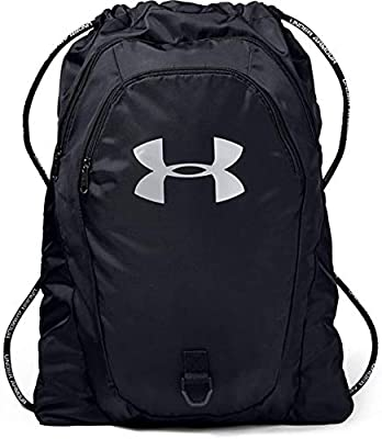 Under Armour Adult Undeniable 2.0 Sackpack , Black (001)/Silver , One Size Fits All