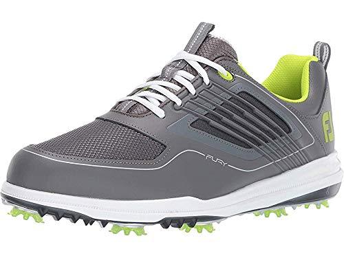 FootJoy Men's Fury Golf Shoes Grey 11 M, Charcoal, US