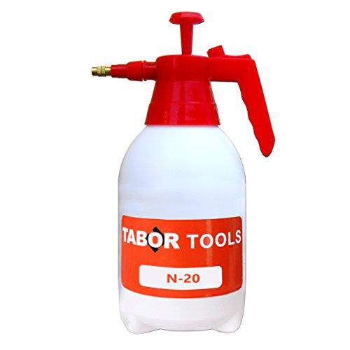 TABOR TOOLS 0.5 Gal Pump Pressure Sprayer, One-Hand Garden Sprayer &...