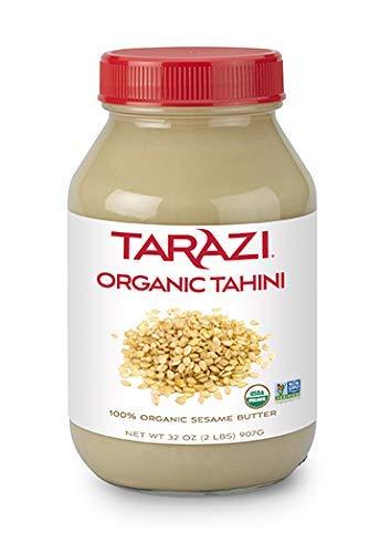 Tarazi Organic Tahini Sesame Butter | Tarazi 100% Organic Tahini Sesame Butter | Jar, 2 lbs