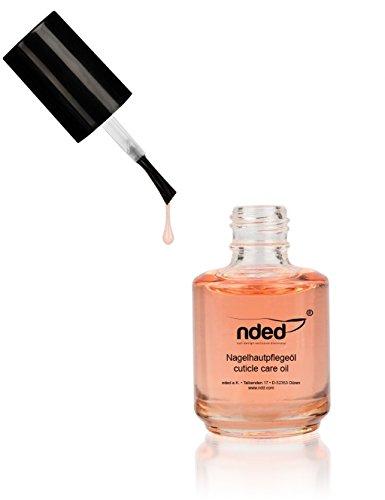 Huile de soin parfumée pour cuticules NDED, Pêche, 15 ml